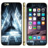 Triangle Pattern Three-dimension Style Mobile Phone Decal Stickers for iPhone 6 Plus