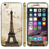 Tower Pattern Mobile Phone Decal Stickers for iPhone 6 Plus