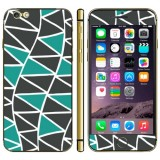 Triangle Pattern Mobile Phone Decal Stickers for iPhone 6 Plus