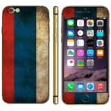 Russian Flag Pattern Mobile Phone Decal Stickers for iPhone 6 Plus