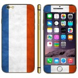 French Flag Pattern Mobile Phone Decal Stickers for iPhone 6 Plus