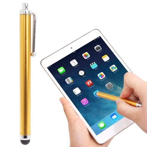 High-Sensitive Touch Pen / Capacitive Stylus Pen for iPhone 5 & 5S & 5C / 4 & 4S, iPad Air / iPad 4 / iPad mini 1 / 2 / 3 / New iPad  (iPad 3) / iPad 2 / iPad and All Capacitive Touch Screen  (Gold)