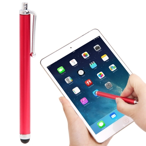 High-Sensitive Touch Pen / Capacitive Stylus Pen for iPhone 5 & 5S & 5C / 4 & 4S, iPad Air / iPad 4 / iPad mini 1 / 2 / 3 / New iPad  (iPad 3) / iPad 2 / iPad and All Capacitive Touch Screen  (Red)