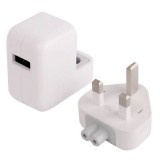 2.1A USB Power Adapter  (UK) Travel Charger for iPad Air 2 / iPad Air / iPad 4 / iPad 3 / iPad 2 / iPad ,iPad mini / mini 2 Retina, iPhone 6 & 6 Plus, iPhone 5 & 5C & 5S ,iPhone 4 & 4S (White)