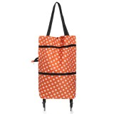 Portable Shopping Trolley Wheels Folding Luggage Cart Bag