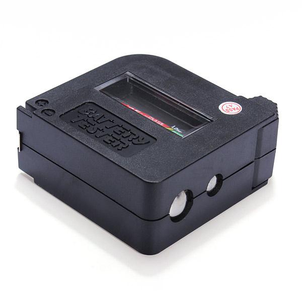 Universal Battery Tester Checker Aa Aaa C D 9v Button