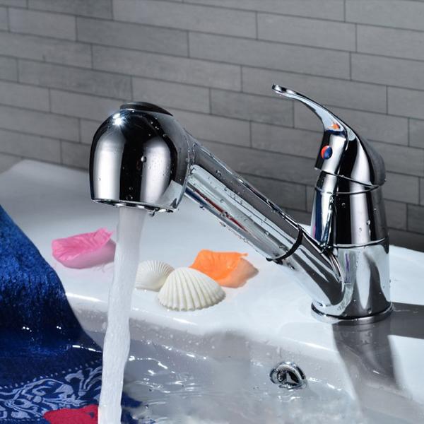 Chrome Sink Bath Faucet Spray Head Shower Replacement Head Alex Nld