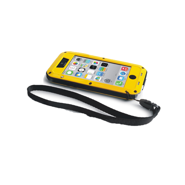 Aluminum Metal Water Shock Dust Proof Case Cover For iPhone 5C