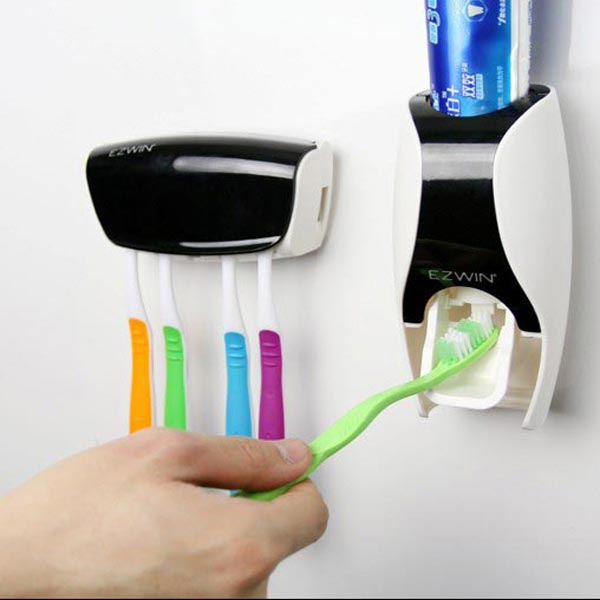 Automatic Toothpaste Dispenser Squeezer With Toothbrush Holder · SKU111641-5.jpg · SKU111641-