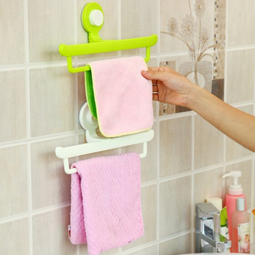 Creative Magic No Trace Sucker Bathroom Towel Hanging Rack