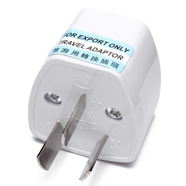 China Aus To Universal Ac Adapter 3 Pin Power Plug Travel Alexnld Com