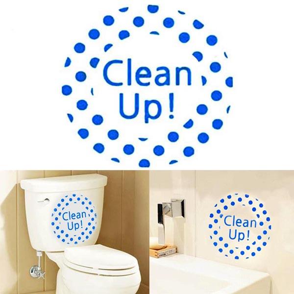 Creative Diy Waterproof Toilet Sticker Bathroom Wall Stickers Alex Nld
