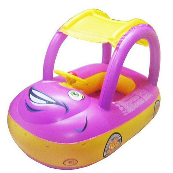 Safety Car Sunshade Inflatable Baby Float Seat Boat Swim
