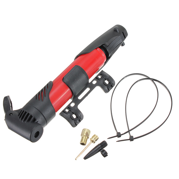 Bike Portable Foldable Skidproof Tire Tyre Inflator Air