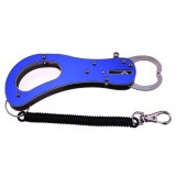 Stainless Steel Portable Fishing Lip Gripper tool with Missed rope