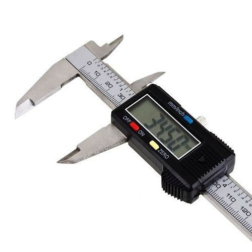Digital Caliper Measurement : Lcd digital vernier caliper micrometer measure range