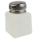 100ml Push Down Alcohol and Liquid Container Bottle