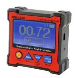 DXL360S 0.01 Degree Digital Protractor Inclinometer Level Box (Red)