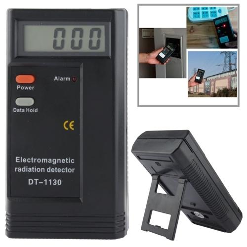 Electromagnetic Radiation Detector EMF Meter Tester (Black)