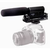 DEBO YS-8 Professional Photography Interview Dedicated Microphone for DSLR & DV Camcorder
