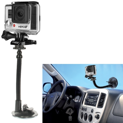 car suction cup mount holder for gopro hero 4 3 3 2 1 camera. Black Bedroom Furniture Sets. Home Design Ideas