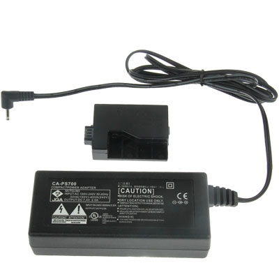 ACK-E5 Camera AC Power Adapter Set for Canon EOS 500D/450D/1000D