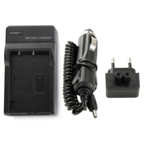 Digital Camera Battery Charger for OLYMPUS BLS1 (Black)