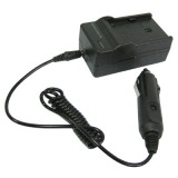 2 in 1 Digital Camera Battery Charger for Samsung SLB-10A, SLB-11A