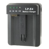 LP-E4 Battery Charger for Canon EOS 1DS Mark III / 1D Mark III 4 / Mark IV / LC-E4 (Black)