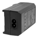 2 in 1 Digital Camera Battery Charger for Gopro Hero 2 AHDBT-001 / AHDBT-002 (Black)