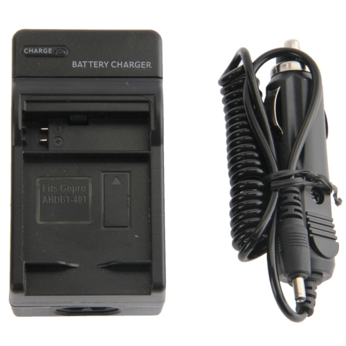 Digital Camera Battery Car Charger for Gopro HERO 4 AHDBT-401
