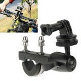 Handlebar Seatpost Big Pole Mount Bike Moto Bicycle Clamp with Tripod Mount Adapter & Screw for GoPro Hero 4 / 3+ / 3 / 2 / 1 / Mini Camera / Mini DV