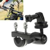 Handlebar Seatpost Big Pole Mount Bike Moto Bicycle Clamp with Tripod Mount Adapter & Screw for GoPro Hero 4 / 3+ / 3 / 2 / 1 / Mini Camera / Mini DV