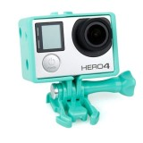 TMC BacPac Frame Mount Housing Case for GoPro Hero 4 / 3+ / 3 (Green)