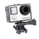 TMC BacPac Frame Mount Housing Case for GoPro Hero 4 / 3+ / 3 (Grey)