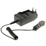 3 in 1 Digital Camera Dual Battery Car Charger for GoPro HERO 3+ / 3  AHDBT-201 / AHDBT-301  (EU Plug)