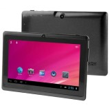 HSD-7080 7.0 Inch Capacitive Screen Android 4.0 Tablet PC with WIFI, Dual Camera, 360 Degree Menu Rotate, 512MB RAM + 4GB ROM, CPU: Allwinner A33 Quad Core 1.5GHz (Black)
