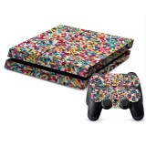 Pills Pattern Decal Stickers for PS4 Game Console