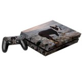 Dog Pattern Decal Stickers for PS4 Game Console
