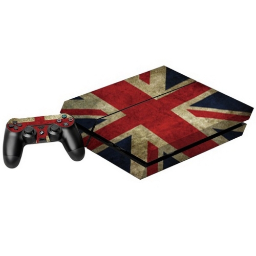 Uk flag pattern decal stickers for ps4 game console alex nld for Ps4 hunting and fishing games