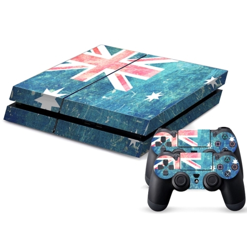 Australian flag pattern decal stickers for ps4 game for Ps4 hunting and fishing games