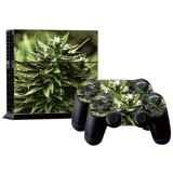 Plant Pattern Decal Stickers for PS4 Game Console