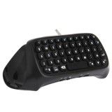Dobe TP4-008 Bluetooth 3.0 Keyboard for PlayStation 4 PS4 Controller (Black)
