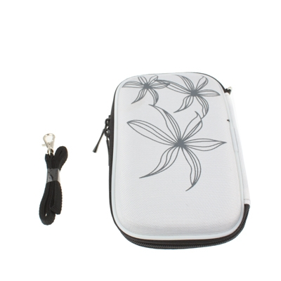 Universal Bag for Digital Camera, GPS, NDS, NDS Lite, Size: 135x80x25mm  (White)