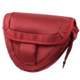 Portable Digital Camera Cloth Bag with Strap, Size: 21 x 8 x 16.5cm  (Scarlet Red)