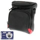 Universal Mini Digital Cloth Camera Bag with Strap, Size: 115 x 105 x 155mm