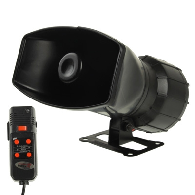 5 Tone Electronic Siren with Microphone