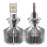 D2 45W Philips MZ 4500LM 6000K White Light Car LED Head Lamp with Driver, DC 11-30V, Pack of 2