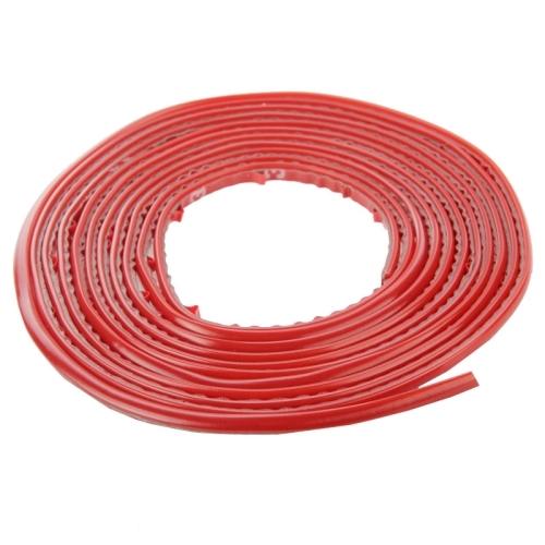 Interior Trim and Exterior Trim Universal 3M Car Decorative Sticker Long Strip (Red)