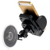 Universal 360 Degree Rotation Suction Cup Car Holder / Desktop Stand for iPhone 5 & 5S & 5C / iPhone 4 & 4S / Other Mobile Phones / MP4 / PDA, Width: 3.5cm – 10cm